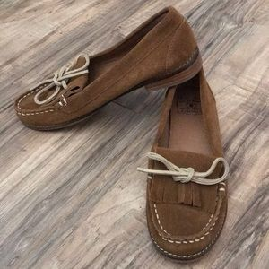 Lucky Brand suede loafers size 7.5